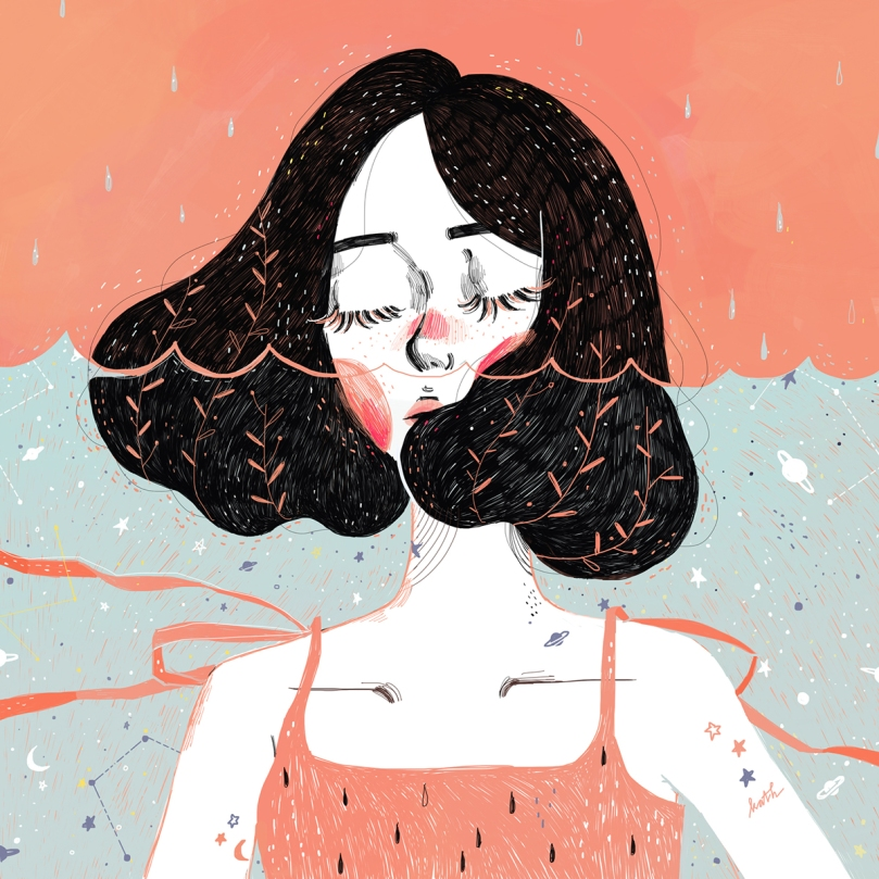 Drowning in Thoughts - Kathrin Honesta